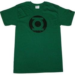 Green Lantern Metalix Logo Men's T-Shirt by Graphitti Designs in The Big Bang Theory