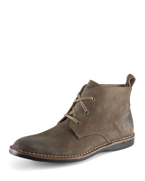 Dorchester Suede Chukka Boot by Andrew Marc in The Walk