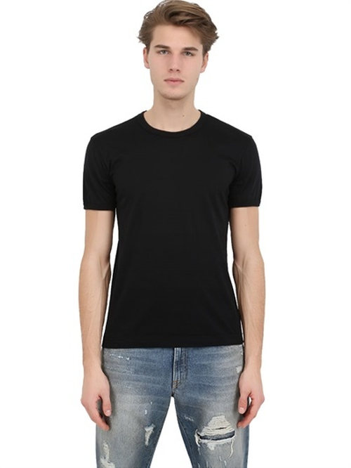 Cotton Jersey T-Shirt by Dolce & Gabbana in Mission: Impossible - Ghost Protocol