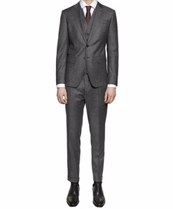 London Wool Gabardine 3 Piece Suit by Dsquared2 in The Blacklist