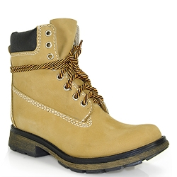 Pasa Lace-Up Boots by Steve Madden in Dope