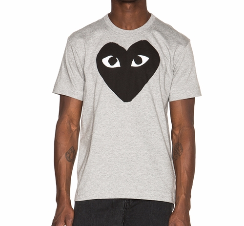 Black Heart T Shirt by Comme des Garçons Play  in Ballers - Season 2 Episode 4