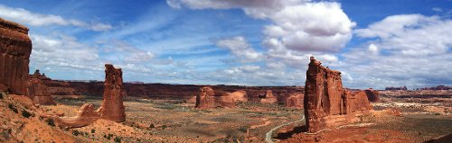Arches National Park Grand County, Utah, USA in Need for Speed