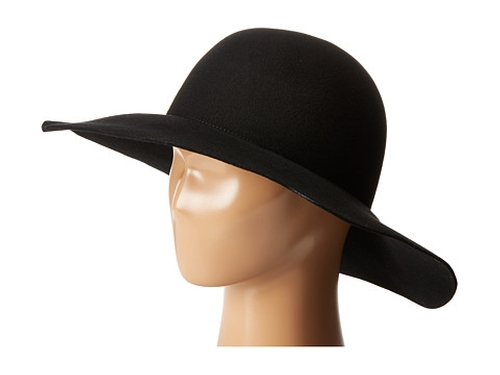 Raw Edge Wide Brim Hat by Karen Kane in Keeping Up With The Kardashians - Season 12 Preview