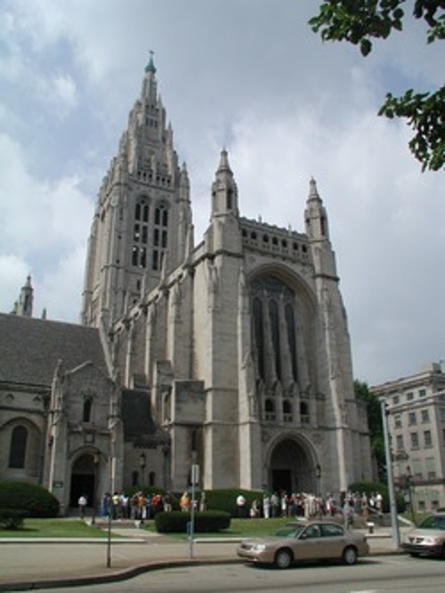East Liberty Presbyterian Church Pittsburgh, Pennsylvania in The Last Witch Hunter