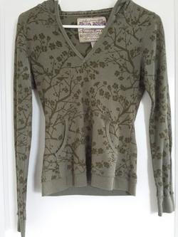 Cie Thermal Hoodie Shirt by American Rag in Twilight
