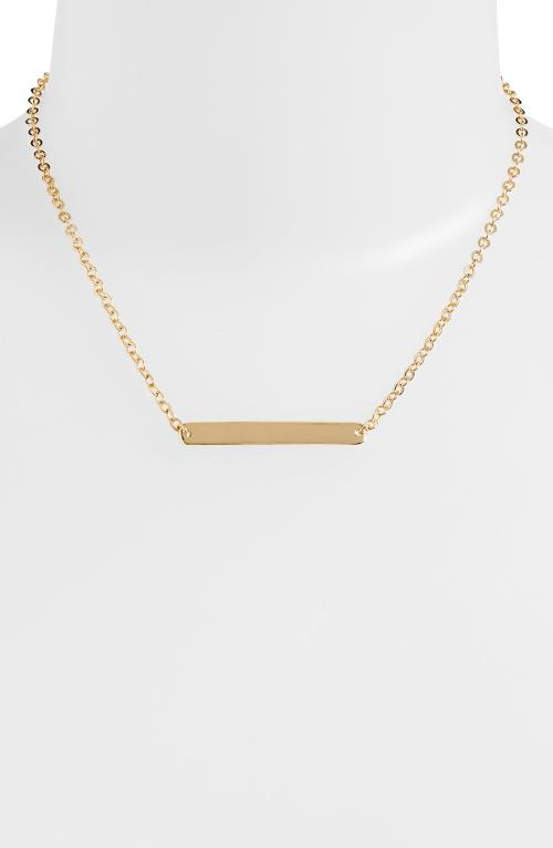 Bar Pendant Necklace by Nordstrom in The Other Woman