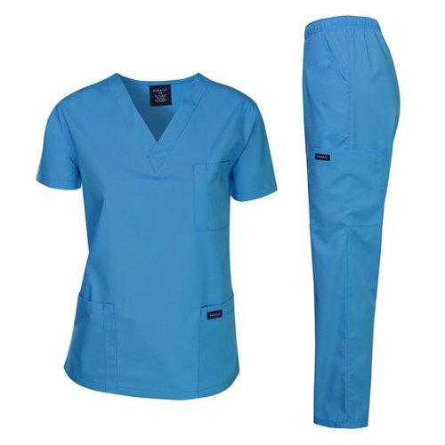 Women's Medical Scrub Top by Dagacci Medical Uniform in If I Stay