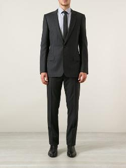 Pinstripe Suit by Dior Homme in Mortdecai