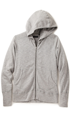 Base Full Zip Hoodie by Wings + Horns in Safe House