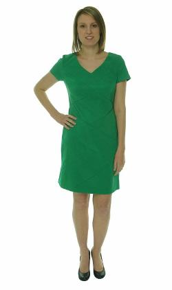 Dress Women's Stretch Twill Dress by AGB in Couple's Retreat