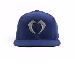 Jasper Dolphin Snapback Hat by Odd Future in Neighbors 2: Sorority Rising
