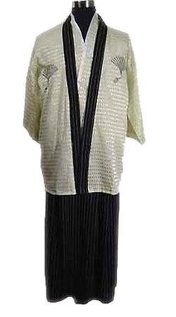 Haori Hakama Samura Robe by Fengbay in Suits