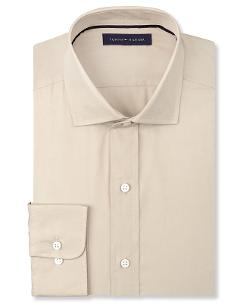 Solid Poplin Dress Shirt by Tommy Hilfiger in Get On Up