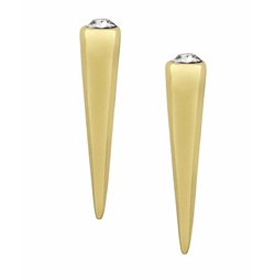 Goldtone Spike Earrings by BCBGENERATION in Suicide Squad