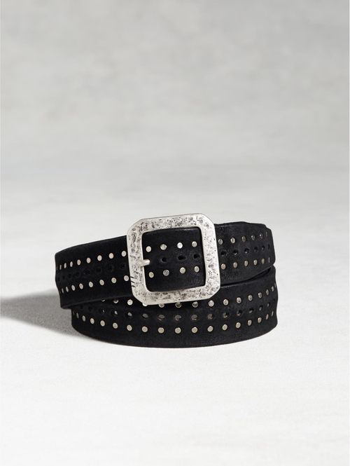 Leather Studded Belt by John Varvatos in Nashville - Season 4 Episode 10