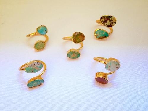 Gold Plated Ring by Susanne Elizabeth Jewelry in The Bachelorette - Season 12 Episode 9