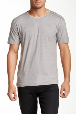 Short Sleeve Reverse Tee by John Varvatos in The Devil Wears Prada