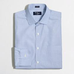 FACTORY TALL THOMPSON SPREAD-COLLAR DRESS SHIRT IN END-ON-END by J.Crew in Transcendence