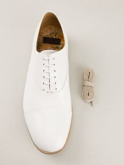 Contrast Oxford Shoe by Raparo in Shutter Island