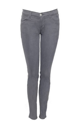 Grey Low Rise Jeans by J Brand in Warm Bodies