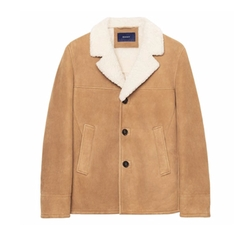 Breezer Shearling Jacket by Gant in Kingsman: The Golden Circle