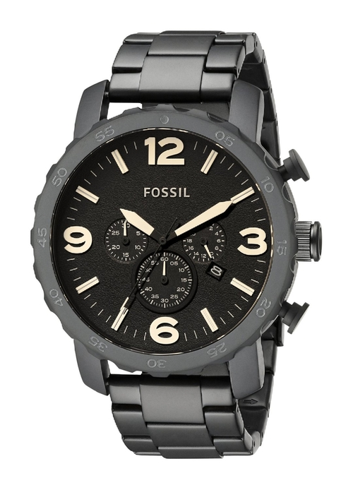 Nate Stainless Steel Watch by Fossil in Rock The Kasbah