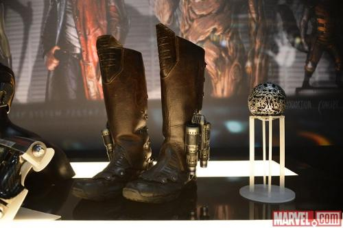 Custom Made Jet Boots (Peter Quill / Star-Lord) by Alexandra Byrne (Costume Designer) in Guardians of the Galaxy Vol. 2