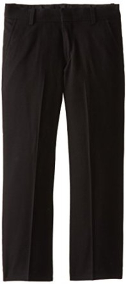 Big Boys Stretch Flat-Front Pant by Perry Ellis in Max