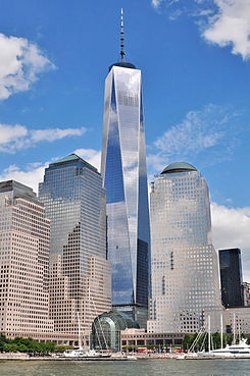 New York City, New York by One World Trade Center in Top Five