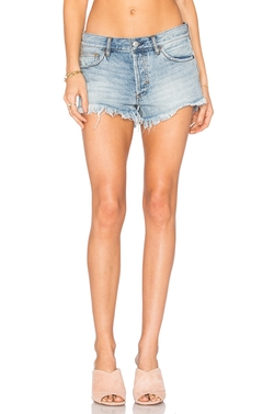 Soft & Relaxed Cut Off Shorts by Free People in The Fate of the Furious