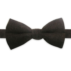 Wool Blend Solid Pretied Bow Tie by Haggar in Modern Family