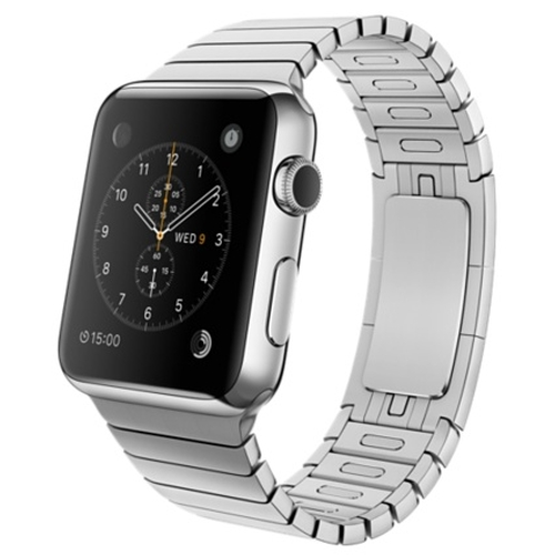 Stainless Steel Case With Link Bracelet by Apple in Pretty Little Liars