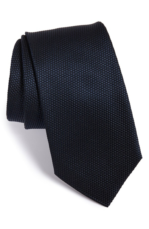 Textured Silk Tie by Boss in Suits - Season 5 Episode 4
