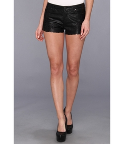 Short in Black Silk Coating by Paige Makayla in Neighbors