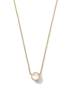 Gold Mini-Lollipop Birthstone Necklace by Ippolita in Billions