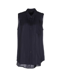 Sleeveless Button Down Shirt by Theory in Suits