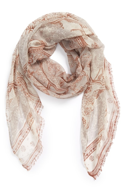 'Coastal Toile' Scarf by Nordstrom in Maze Runner: The Scorch Trials