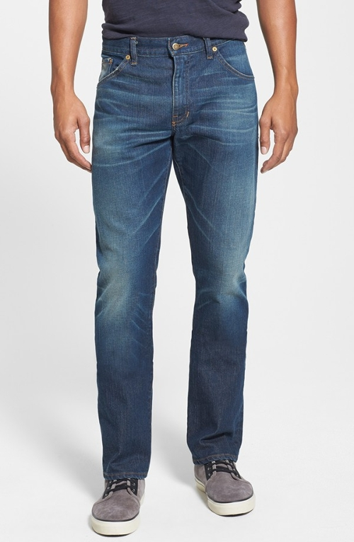 'Jones' Slim Fit Jeans by Raleigh Denim in Ex Machina