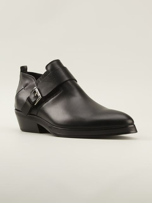 Buckled Ankle Boots by Costume National in Need for Speed