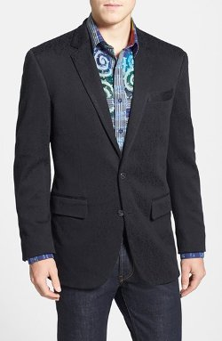 'Laurelton' Classic Fit Floral Jacquard Blazer by Robert Graham in Horrible Bosses 2