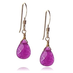 Teardrop Earrings by BLACK PEARL in Vampire Academy