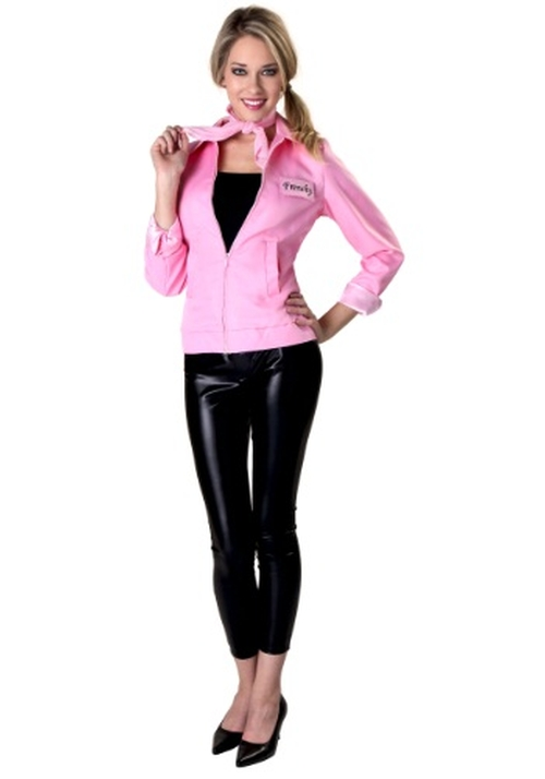 Authentic Grease Pink Ladies Jacket by Halloween Costumes in Grease
