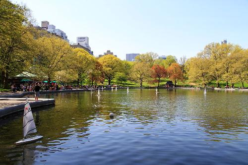 Conservatory Water in Central Park New York City, New York in The Other Woman