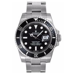 Submariner Ceramic Bezel Steel Watch by Rolex in War Dogs
