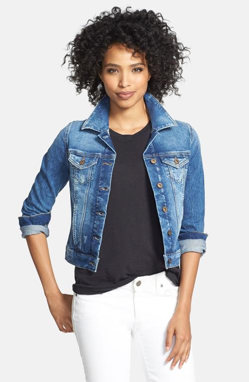'Samantha' Denim Jacket by Mavi Jeans in The Other Woman