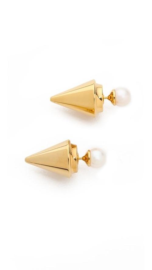 Double Titan Earrings by Vita Fede in Before I Wake