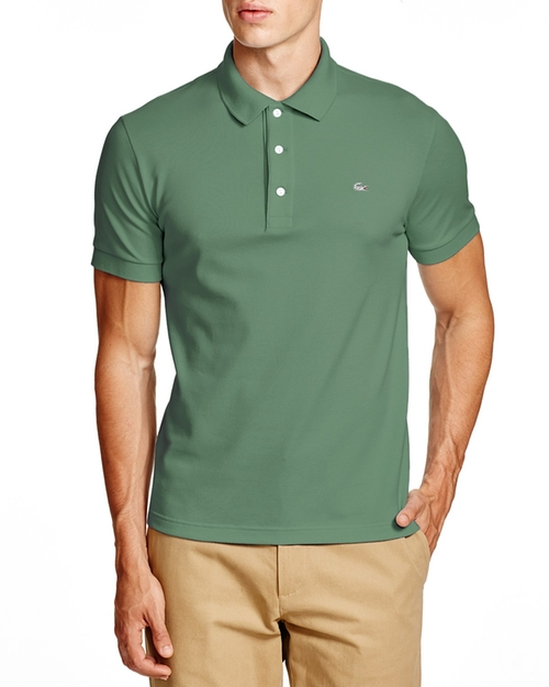 Stretch Slim Fit Polo Shirt by Lacoste in The Departed