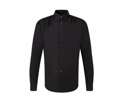 Point Collar Shirred Shirt by Miguel Antoinne in Empire
