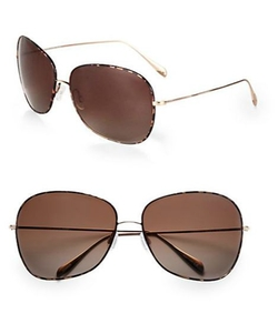 Elsie Oversized Round Sunglasses by Oliver Peoples in American Horror Story